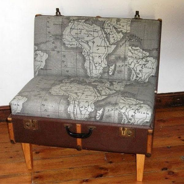 Nice Creative Ways Of Reusing Old Suitcases