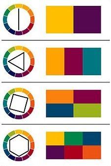 цветовой круг на русском - Поиск в Google