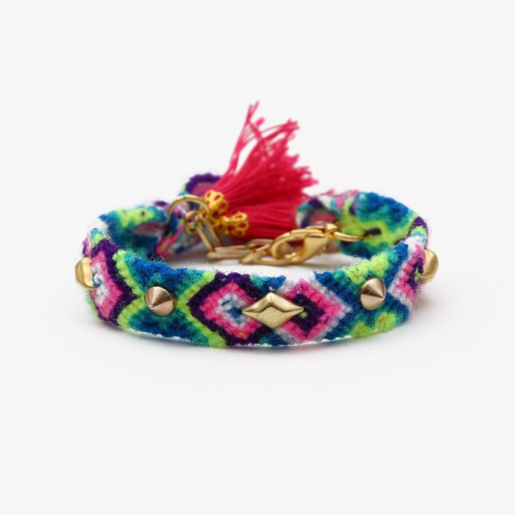 Fes Friendship Wristband with Tassels by Hermina Wristwear - Project J