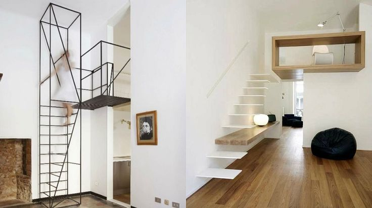 2 mod les ultra modernes d 39 escalier gain de place pour plafond haut escalier pinterest lieux. Black Bedroom Furniture Sets. Home Design Ideas