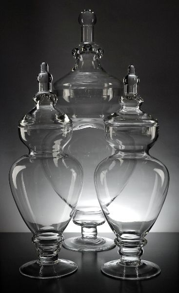 Apothecary Jars for the dessert bar!! This site (save-on-crafts.com) has EVERYTHING you could image for a wedding! And the prices seem to be great, too.