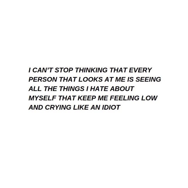 School depresses me... my life's in a pit of despair?