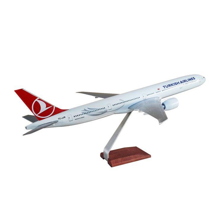 TK Collection B 777 1/100 Model Uçak ::
