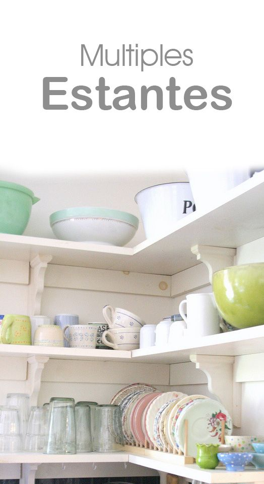 17 best images about cocina on pinterest mesas leaf - Estantes de cocina ...
