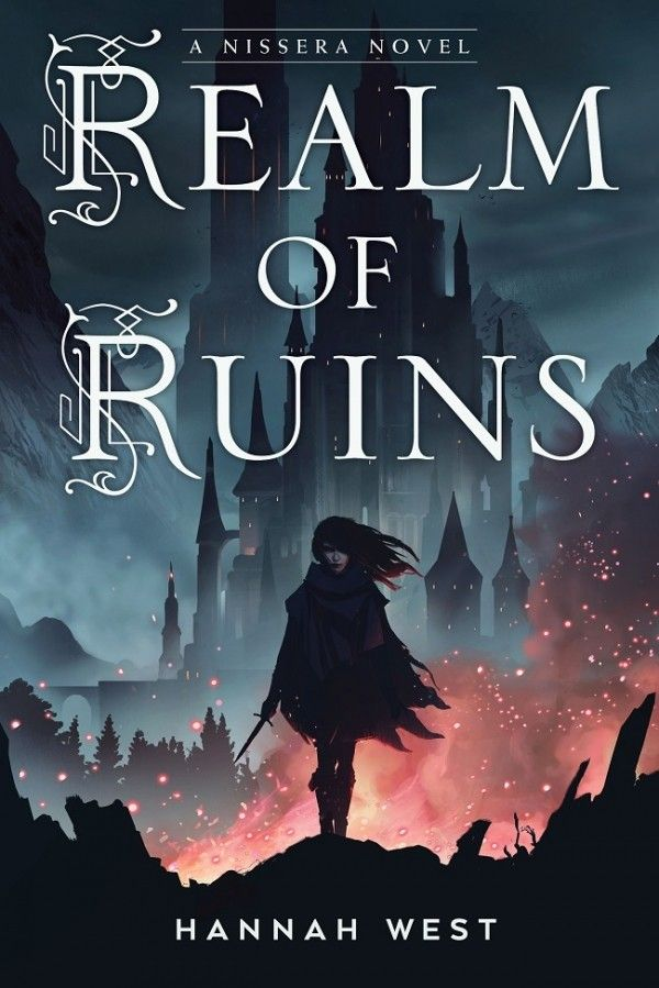 Cover Reveal: Realm of Ruins by Hannah West - On sale October 2, 2018! #CoverReveal