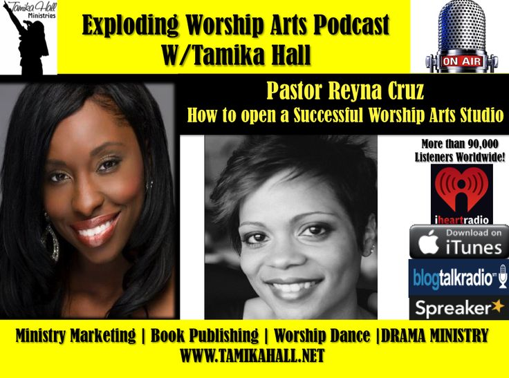 #47- Pastor Reyna Cruz shares How to Successfully Launch a Worship Arts School - Tamika Hall Ministries