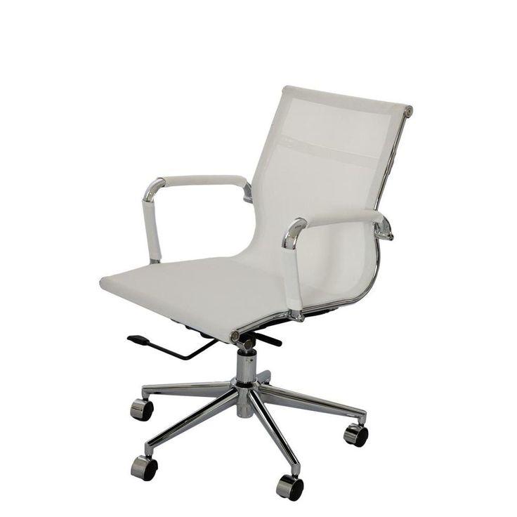 Cadeira Giratória baixa - Branco/Cadeira Spa -Móveis e Decoração - Cadeiras de Escritório - Walmart.com