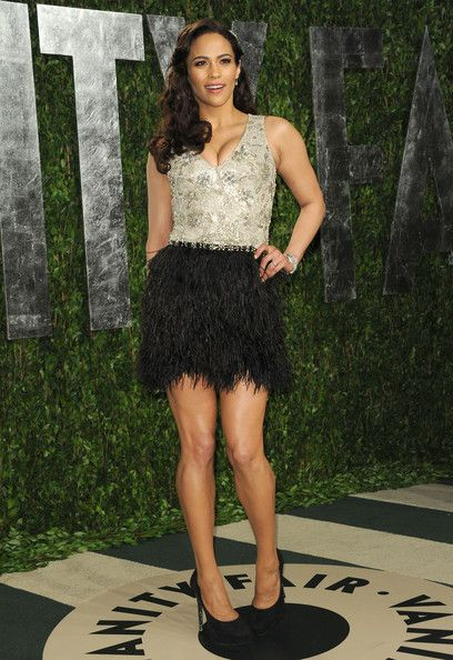 Naeem Khan at the 2012 Vanity Fair Oscar Party - Style Crush: Paula Patton - Photos