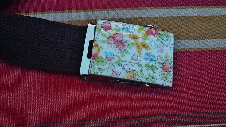 the floral ArtePovera belt