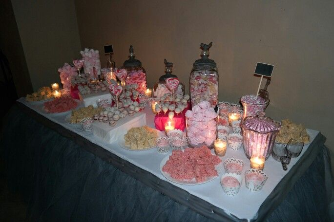 The sweets table