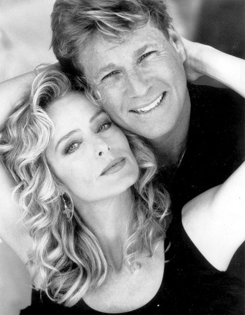 {great love story - farrah fawcett & ryan o'neal