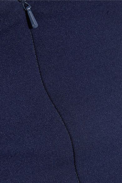 Solace London - Aubrey Strapless Stretch-crepe Gown - Navy - UK