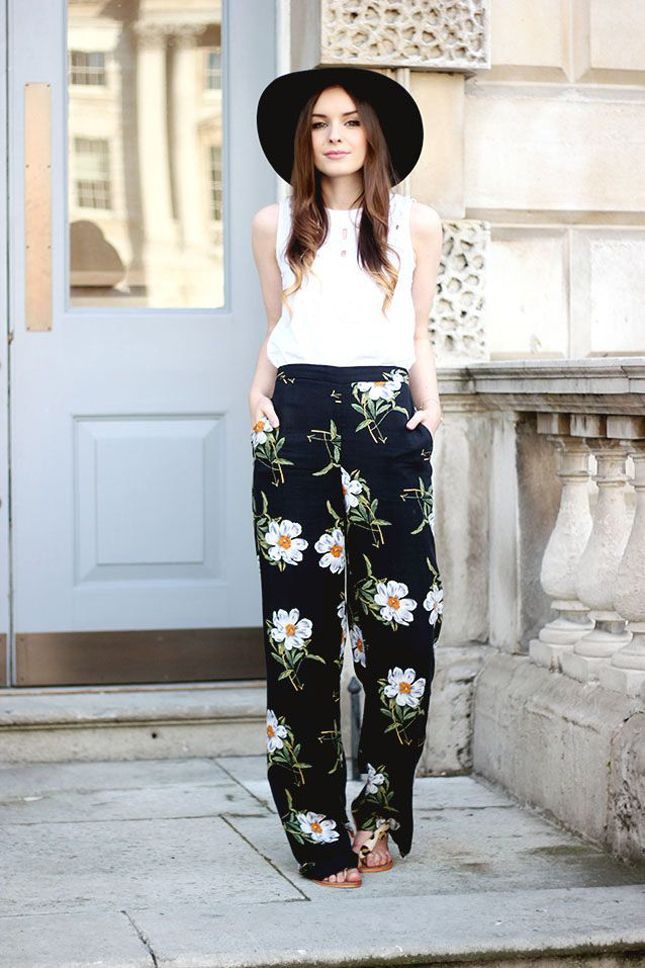 17 Best ideas about Floral Pants Outfit on Pinterest | Floral ...