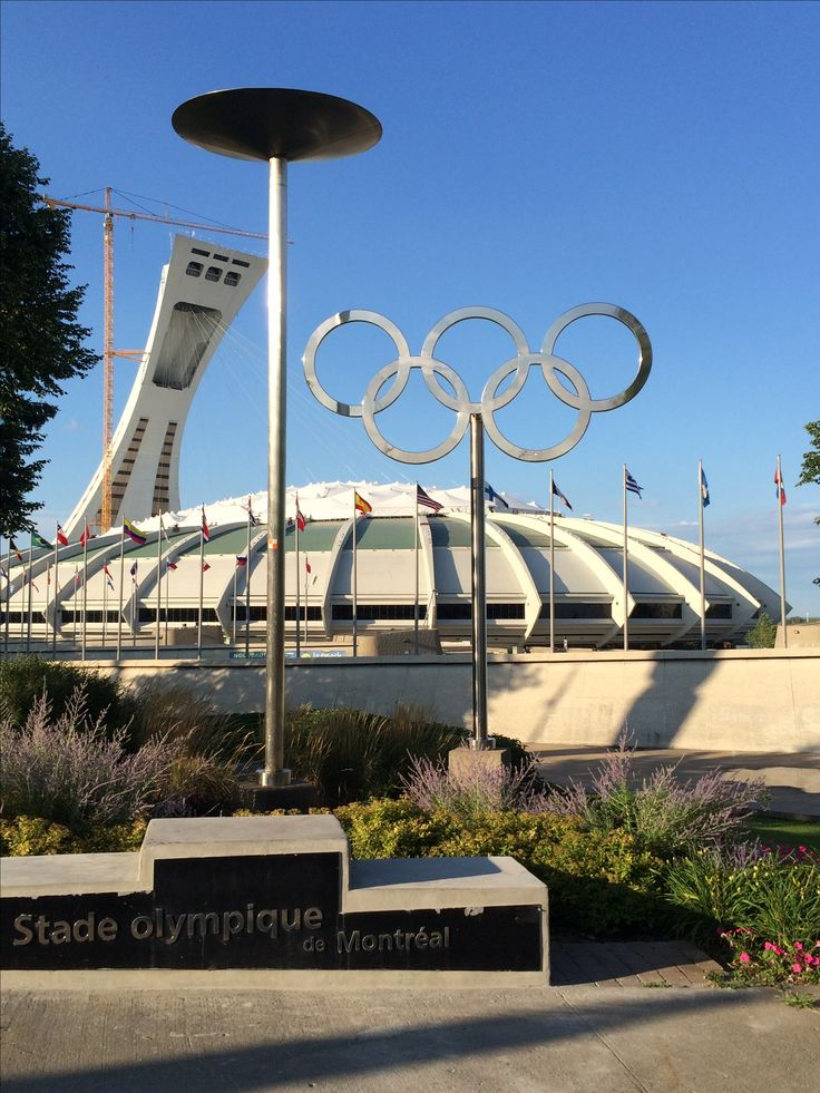 The Stade Olympique de Montréal - home of the 1976 Summer Olympics and Montréal Expos. #montreal #quebec #canada #stadium #olympics #montrealexpos #architecture #travel
