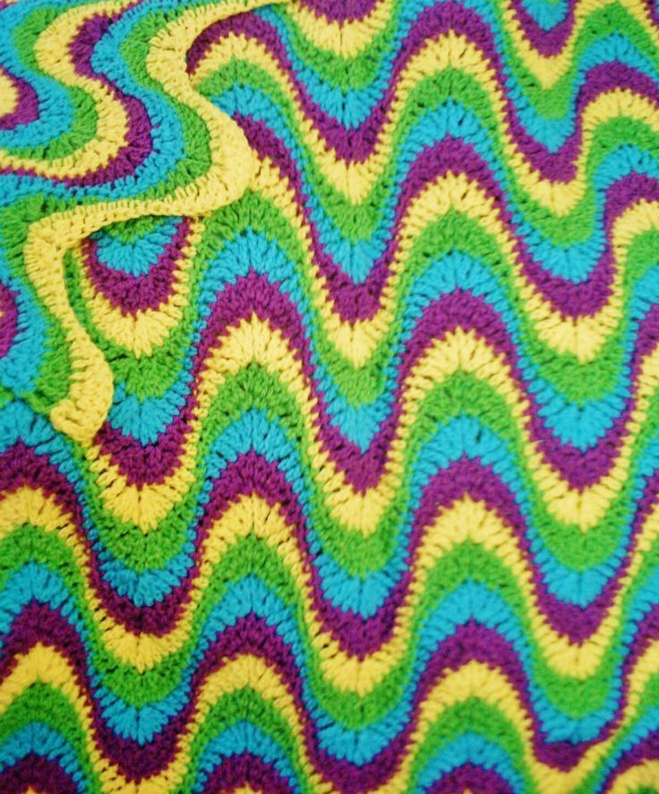 569 best knitcrochet afghans ripple images on pinterest crochet retro ripple dt1010fo