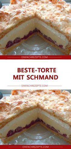 Beste-Torte mit Schmand 😍 😍 😍 – Zimtschnecken rezept