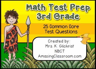 Math Test Prep 5 Flipchart promethean flipchart
