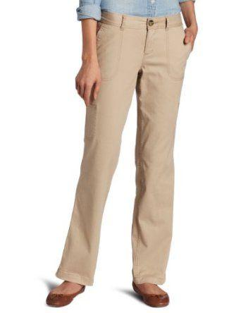 Dockers Women's Petite Soft Utility Pant, Sandalwood, 6 Medium Dockers. $34.99