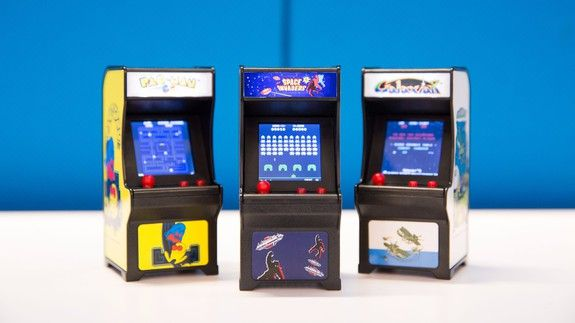 Adorably tiny playable versions of classic arcade cabinets are the perfect novelty item