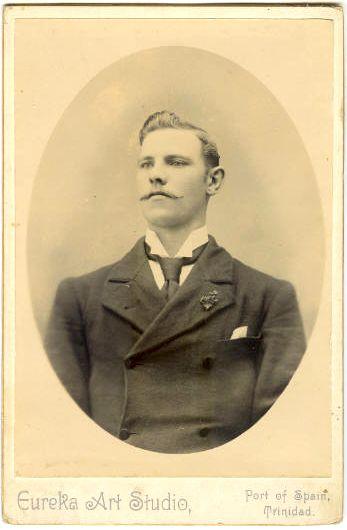 """vintage-sweden: """"Unknown Swedish man. Photo was taken in Trinidad. """""""