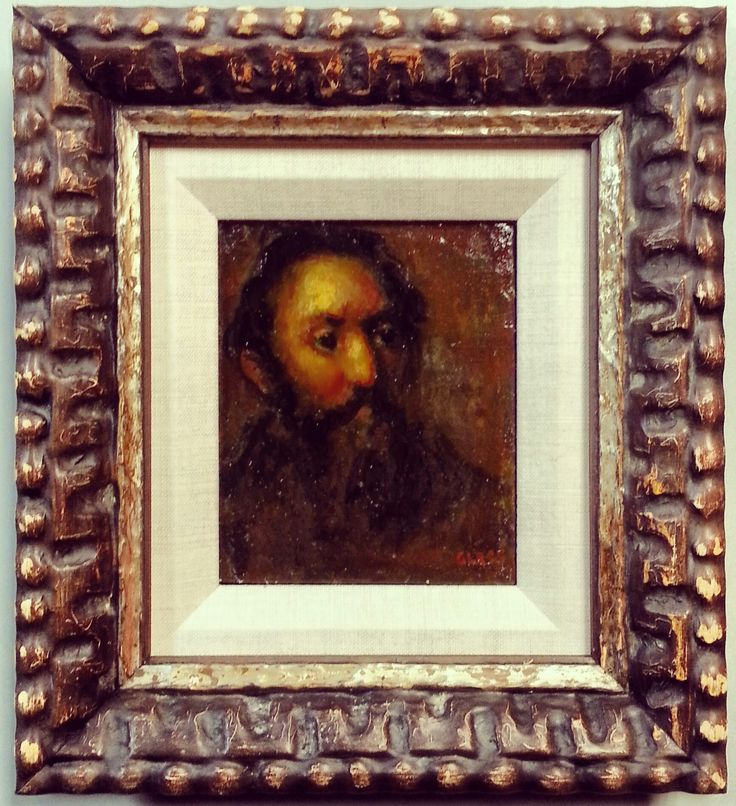 Perfection painting framed using a katherine adams for Larson juhl