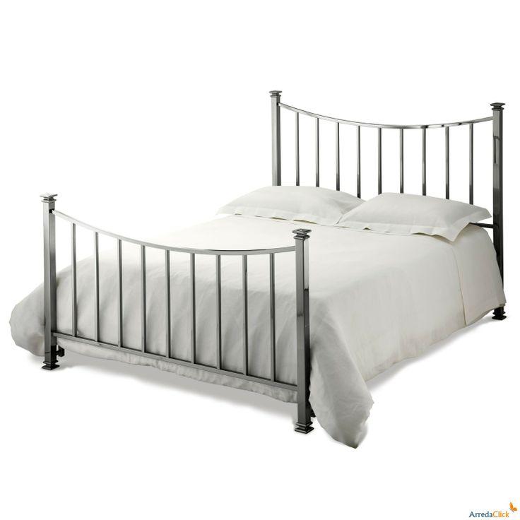 Alan modernes Doppelbett aus Eisen - ARREDACLICK