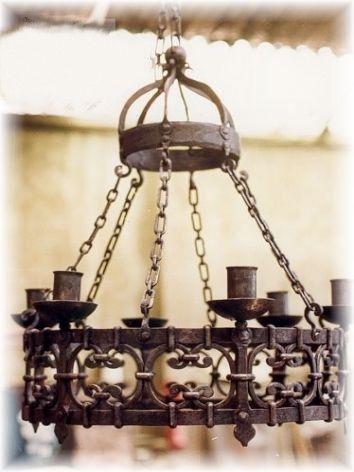 Fotos de photo5 lamparas en fierro forjado