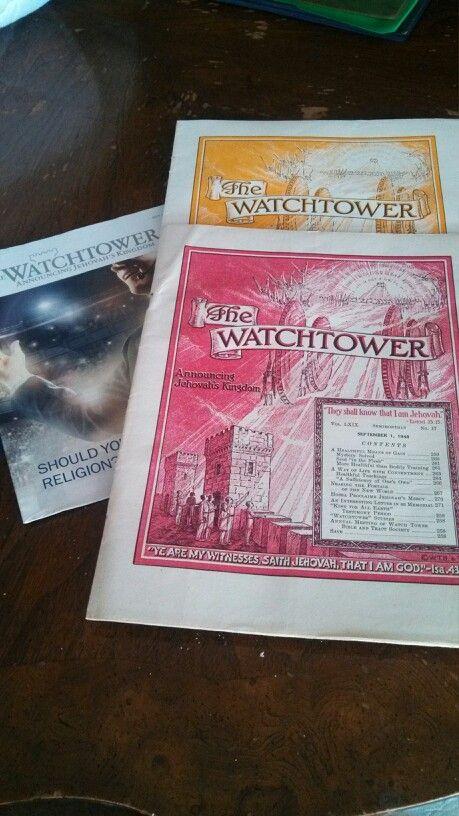 Watchtower magazine over the years