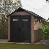 Found it at Wayfair - Fusion 7.5 Ft. W x 9.4 Ft. D Wood and Plastic Storage Shed