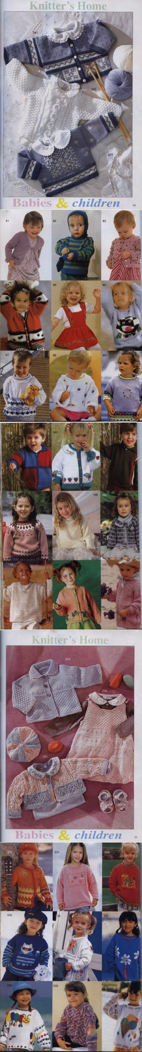 Яркие, нарядные детские модели с выкройками и схемами. Большая подборка