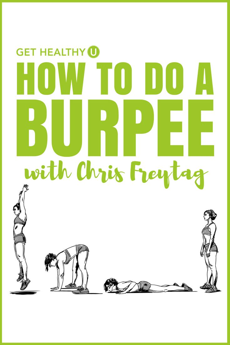 Check out this step-by-step video featuring Chris Freytag showing you exactly how to do a burpee! Burpees are AMAZING cardio, will help burn fat and torch calories, but you need to get the form right! Watch this video and you'll know exactly what to do!