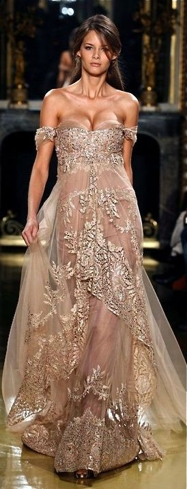zuhair murad -  Beautiful, however the fit on top could be improved upon