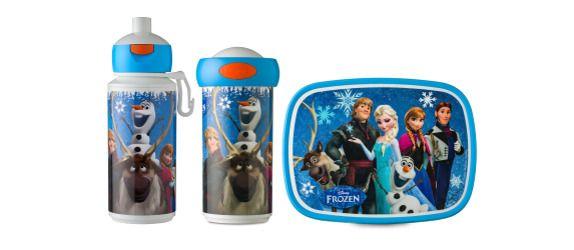 Frozen pop-up drinkfles, schoolbeker en lunchbox van Rosti Mepal!