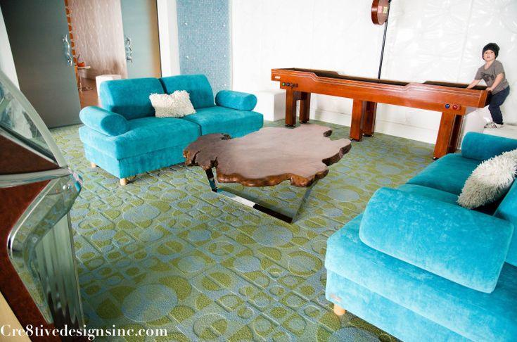 ive edge coffee table with polished chrome baseive edge coffee table with polished chrome base