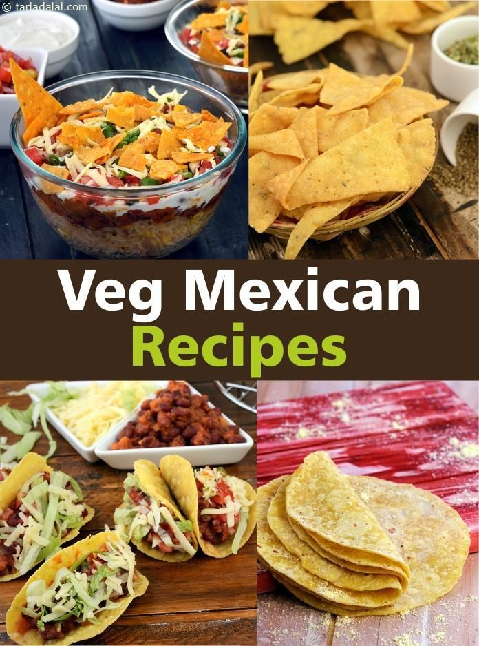 Mexican Recipes : 180 Vegetarian Mexican Food Recipes