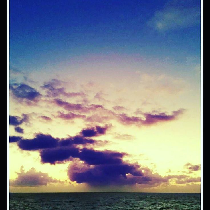 ANOTHER REASON TO CRUISE. . Pic credit: Me @instatravelpro . . Taken from my veranda on HAL Eurodam. . #cruise  #sunset #eurodam . . . . . . . . .