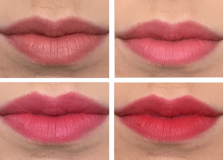 L'Oreal Infallible Matte Max lip lacquer - silencio, virgin, oops i pink it again, say my name  Lipstick || Infallible Matte Max- Oops I Pink It Again (004) --  SSu FB rec, swatches to 5.3