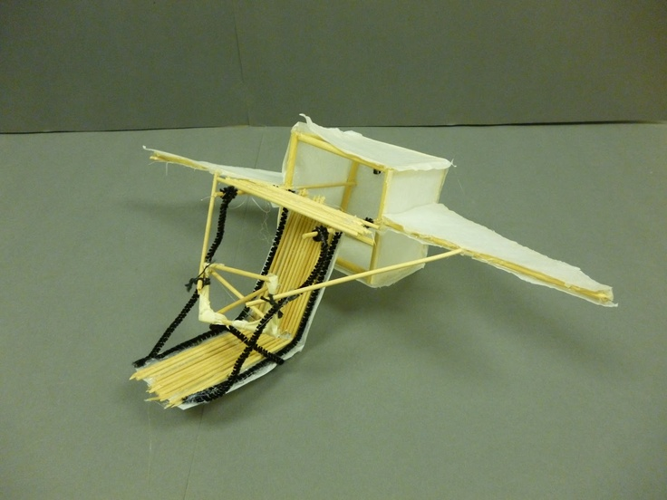 Artistic Freedom: Leonardo Da Vinci Flying Machines way too awesome project