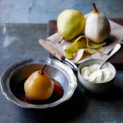 Caramel poached pears | Easy dessert recipes