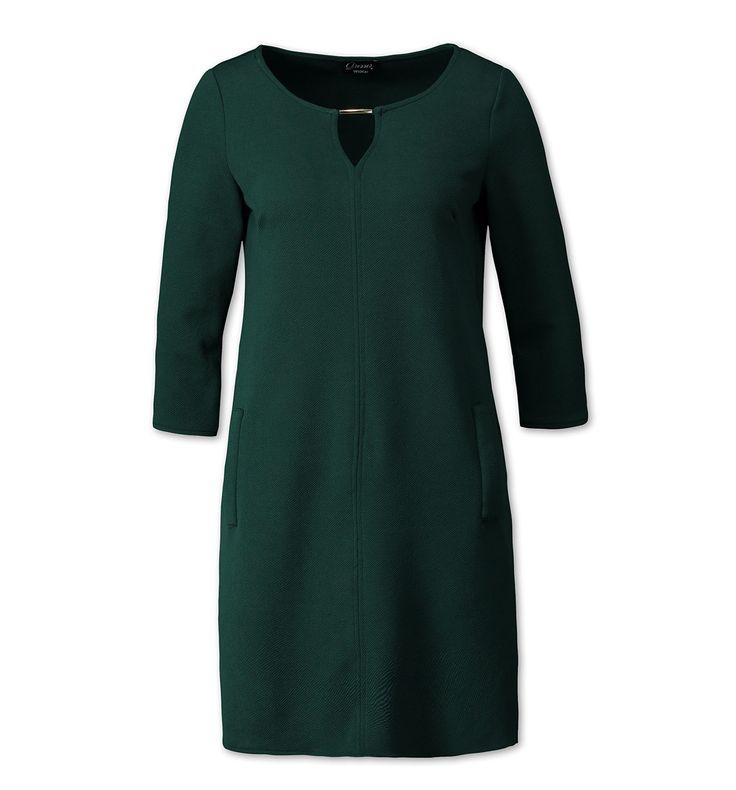 Sklep internetowy C&A | Sukienka, kolor:  ciemnozielony | Dobra jakość w niskiej cenie