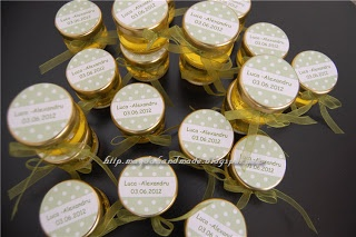 Jars of honey - gifts for Luca-Alexandru.