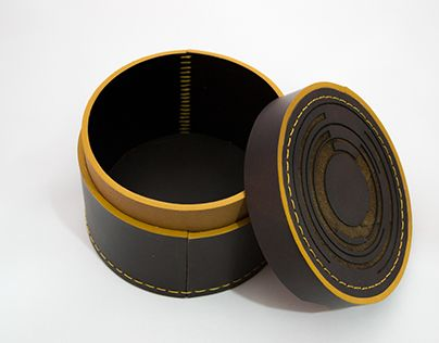 """Check out new work on my @Behance portfolio: """"Leather box"""" http://be.net/gallery/41547355/Leather-box"""