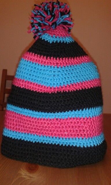 "Crochet hat ""coolich"""