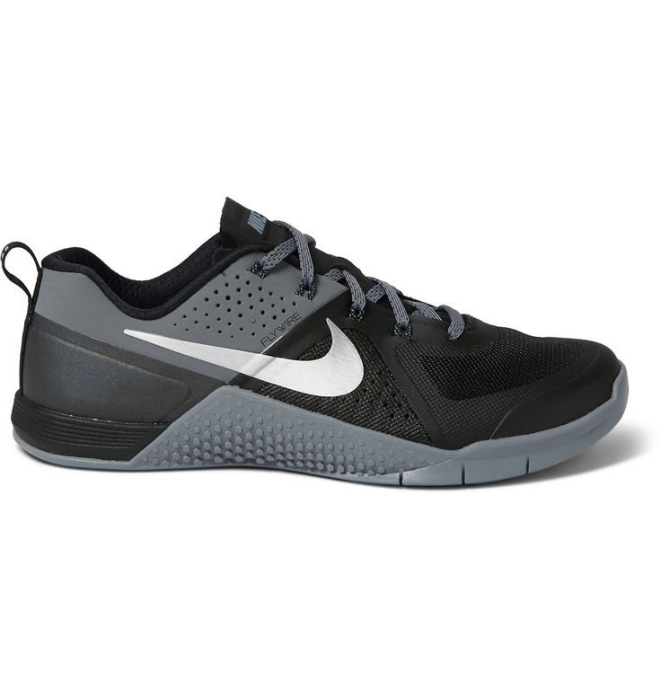 Nike Training - Metcon 1 Perforated Rubber Sneakers
