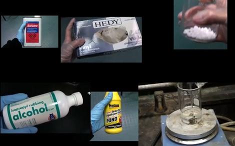 Making Luminol from household chemicals