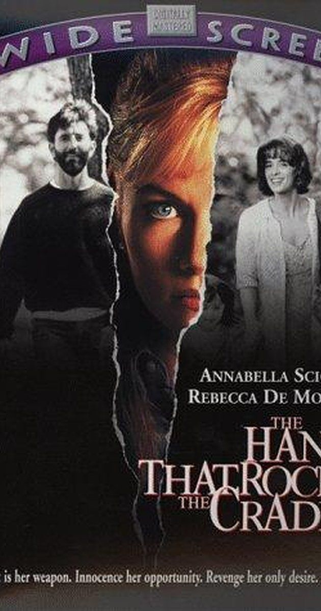 Directed by Curtis Hanson.  With Annabella Sciorra, Rebecca De Mornay, Matt McCoy, Ernie Hudson. After her humiliated husband kills himself, an embittered pregnant widow loses her child, and embarks on a mission of vengeance against a woman and her family.