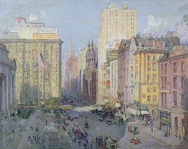 Colin Campbell Cooper-Fifth Avenue, New York