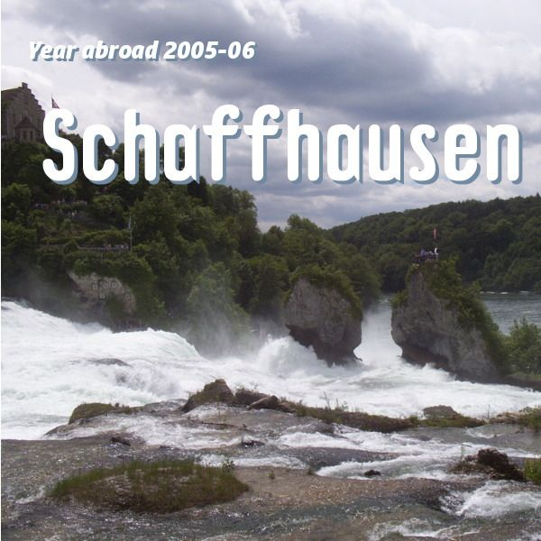 I'd wanted to go to Schaffhausen and visit the Rhinefalls for some time – I'd just been waiting for a good day for it and this day was apparently the one. I changed trains at Wint…