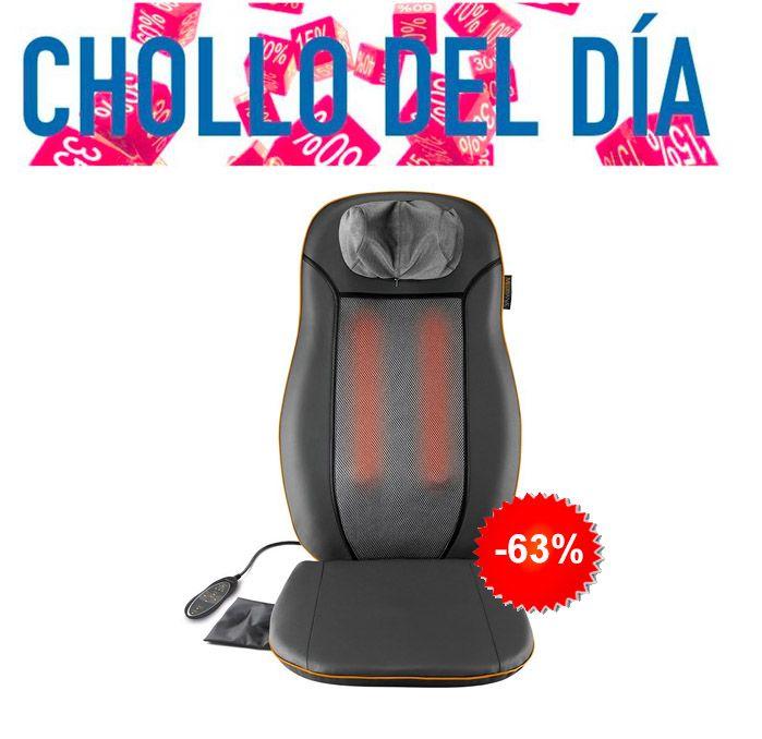 #Chollo de salud! #Sillón de #masaje shiatsu! Descuentazo del 63%! Te quedarás muy relajado! http://mzof.es/blog/sillon-de-masaje-shiatsu-medisana/224