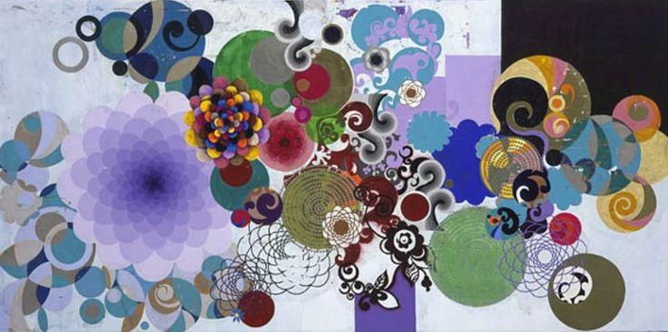 Beatriz Milhazes (Rio de Janeiro, 1961) è una pittrice, artista incisore e creatrice di collage brasiliana... centro cultural tina modotti caracas